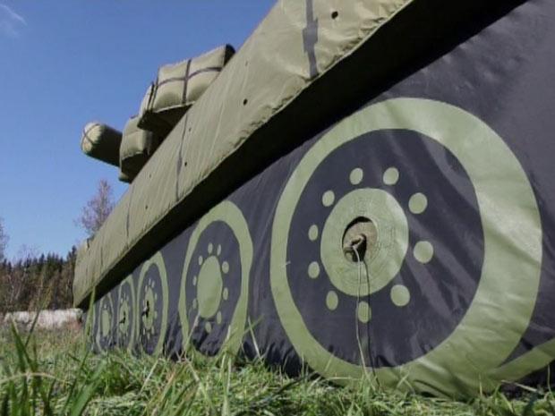 O 'tanque inflável' russo.