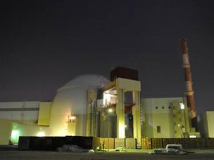 A primeira usina atômica do Irã, Bushehr
