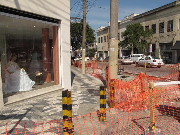 Rua São Caetano será reformada por 4 meses