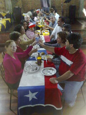 Restaurante no Centro é reduto de chilenos