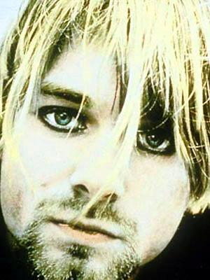 Kurt Cobain, em foto para um revista