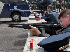 Guardas participaram de treinamento em Curitiba