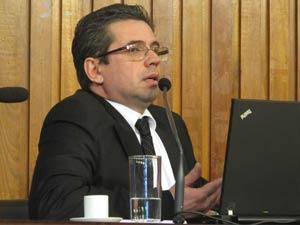 José Carlos Blat esteve em sessão de CPI na Assembleia Legislativa de São Paulo