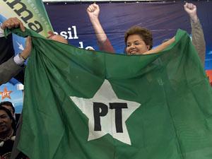 Dilma Rousseff em evento com ambientalistas em Brasília