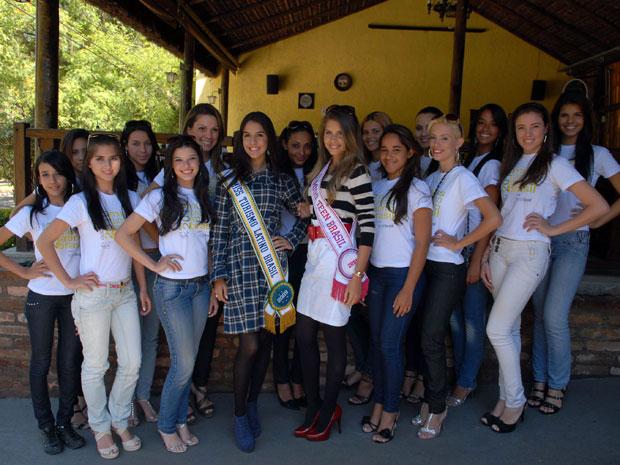 Candidatas Miss Turismo Latino Brasil 2010