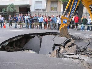 Cratera em Ipanema