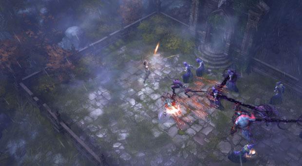 Demon Hunter, a nova classe de 'Diablo III', foi um dos grandes anúncios da BlizzCon 2010. (Foto: Divulgação/Blizzard)