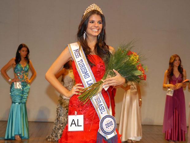 A estudante universitária Juliana Cavalcante foi eleita a Miss Turismo Latino Brasil 2010