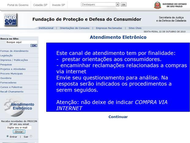 Procon-SP lança atendimento para quem tiver problemas com compras pela internet.