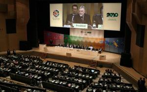 Destruição da biodiversidade global gera prejuízo de até R$ 8 trilhões (Foto: Jiji Press via AFP 18-10-2010)