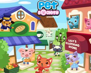 Jogo social Pet Society