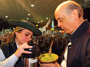 O candidato do PSDB à presidência da República, José Serra-fotopequena