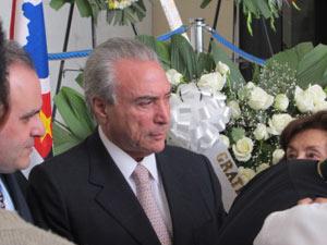 """Temer lamentou a morte de Tuma: """"Uma competência inegável, de modo que sob todos os ângulos ele vai fazer muita falta para todos nós, para todos os brasileiros"""""""