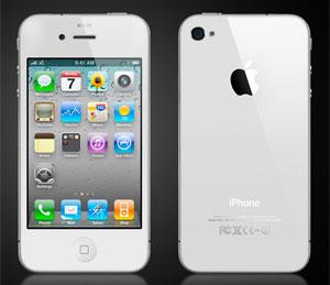 iPhone 4 na cor branca chega ás lojas apenas em 2011. (Foto: Divulgação)