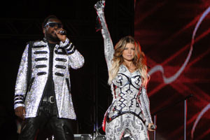 Black Eyed Peas se apresenta em Minas