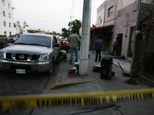 Ataque em Zapopan deixou cinco pessoas feridas.