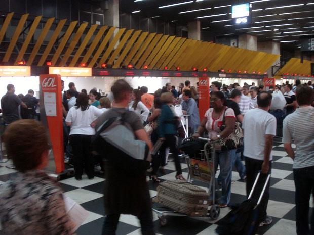 Aeroporto de Congonhas, em São Paulo