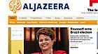 Imprensa internacional destaca Dilma (Reprodução)