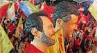 Militantes no DF festejam Dilma e Agnelo eleitos (g1)