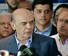Serra deseja que Dilma 'faça bem' ao Brasil (Reprodução/TV Globo)
