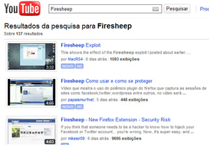 Hacking para as massas: vídeos ensinam passo a passo como usar o Firesheep.