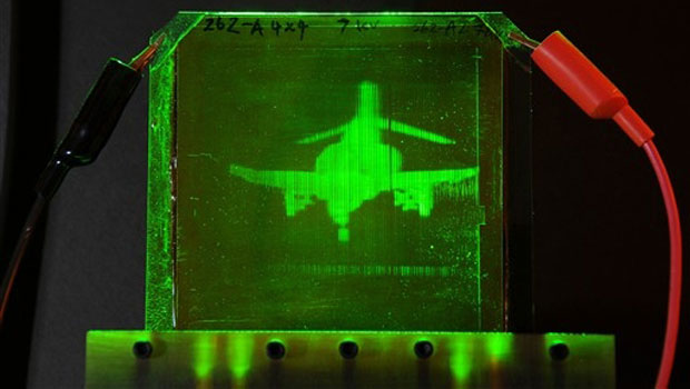 Tecnologia permite que holograma 3D ganhe movimentos em tempo real