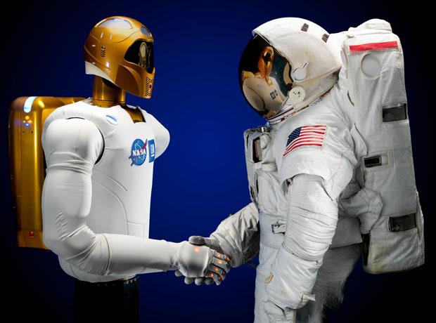 Robonaut 2, primeiro robô humanoide a viajar rumo à Estação Espacial Internacional
