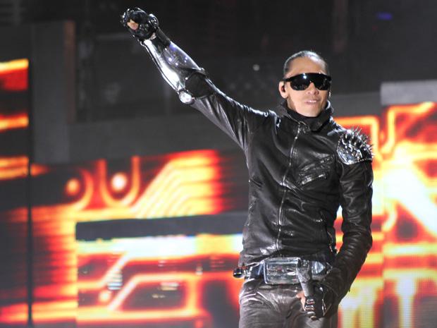 Taboo, durante show do Black Eyed Peas em São Paulo