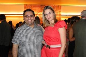 Gleison Barreto e Juliana Perdigão