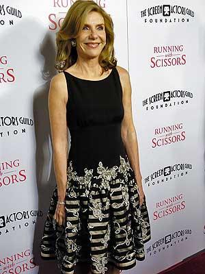 Jill Clayburgh durante lançamento de 'Correndo com Tesouras', em Beverly Hills, em 2006.