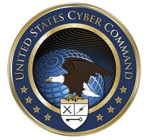 Anel central possui código com missão do órgão, cujo objetivo é realizar operações militares na rede e negar o mesmo a adversários