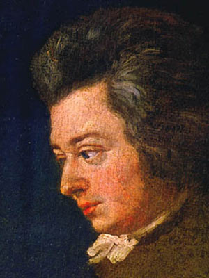 Retrato de Mozart de 1782 (Foto: Reprodução/Wikimedia Commons)