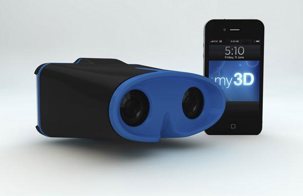 My3D, aparelho 3D para iPod e iPhone