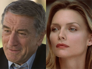 Robert De Niro e Michelle Pfeiffer