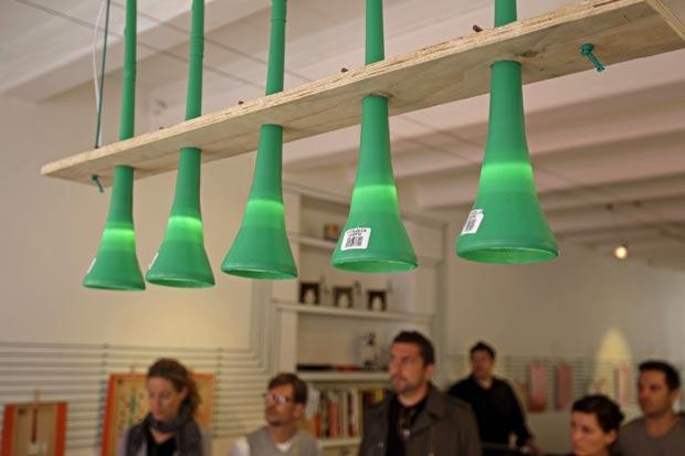Bocal para lâmpadas foi outra possível utilidade apresentada.