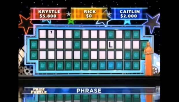 Caitlin Burke decifrou o enigma com 26 espaços em branco.
