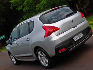 Traseira do Peugeot 3008