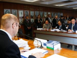 Reunião da Comissão de Constituição e Justiça nesta quarta-feira (10).