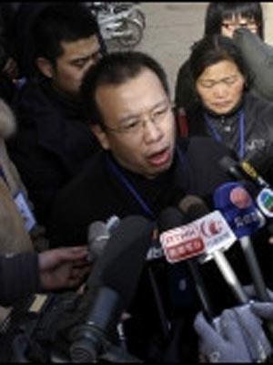 Zhao Lianhai foi condenado por incitar a desordem social