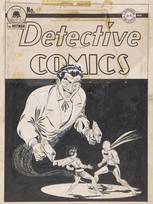 Capa original da revista 'Double guns', de 1942
