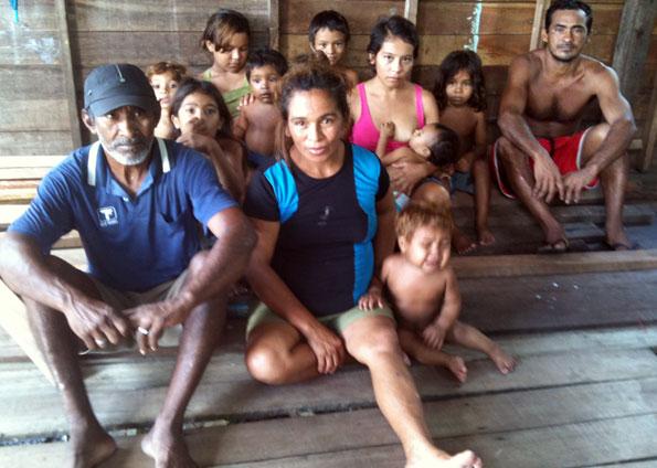 Manoel do Rosário e sua família