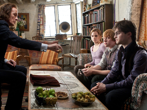 Bill Nighy, Emma Watson, Rupert Grint e Daniel Radcliffe