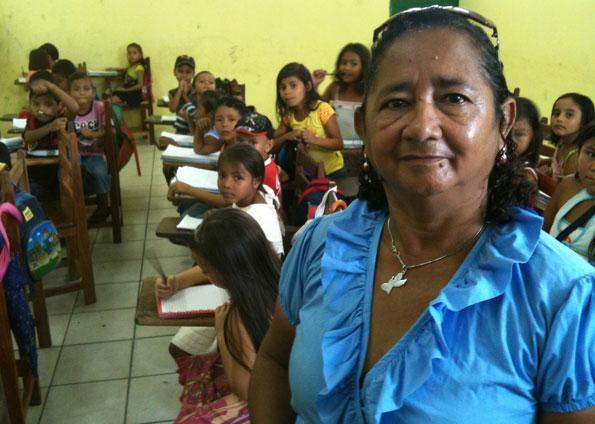 A professoraMaria Brasil