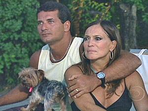 Susana Vieira e Marcelo enquanto ainda eram casados