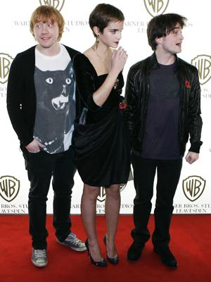 Rupert Grint, Emma Watson, Daniel Ratcliffe