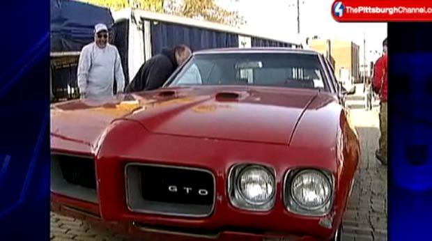 Brian Laney pagou US$ 20 mil para recuperar o carro que pertenceu a seu pai.