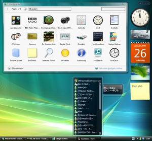Desktop com Windows Vista.