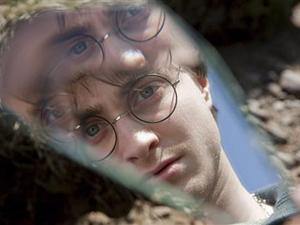 Daniel Radcliffe em cena de 'Harry Potter e as relíquias da morte'.