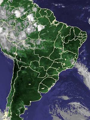 Imagem de satélite de quinta-feira (11)