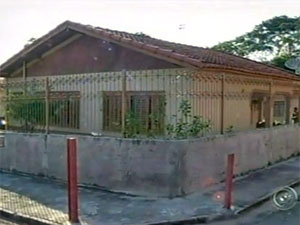 Casa onde aconteceu crime em Marília